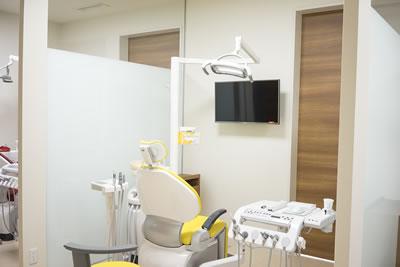 プライバシーが守られる診療室